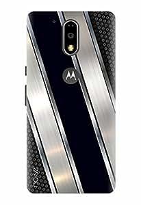 Noise Designer Printed Case / Cover for Motorola Moto G, 4th Gen / Patterns & Ethnic / Diagonal Wisp Design