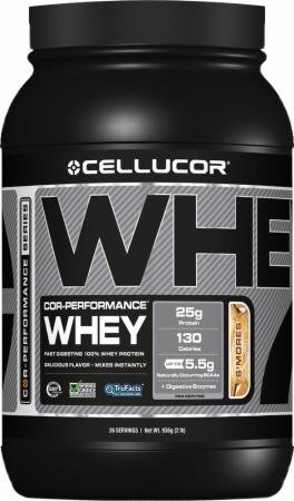 Cellucor Cor Performance Whey Protein, S'Mores, 2Lbs