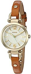 Fossil Georgia Sm Analog Silver Dial Womens Watch - ES4000