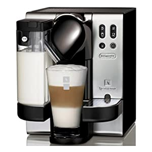 Delonghi EN680 Nespresso Coffee Maker Machine Silver Finish