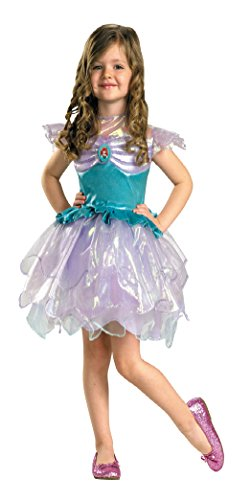 Girls Disney Ariel Kids Child Fancy Dress Party Halloween Costume