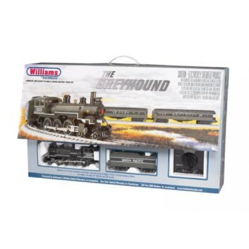 cheap williams by bachmann the greyhound o scale ready to run electric train set cheap. Black Bedroom Furniture Sets. Home Design Ideas