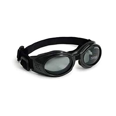 Doggles DGORLG01 Large Originalz - Black Frame - Smoke Lens