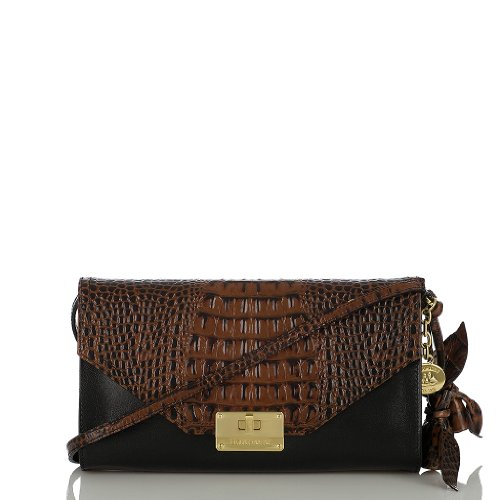 Sophie Clutch<br>Black Tuscan