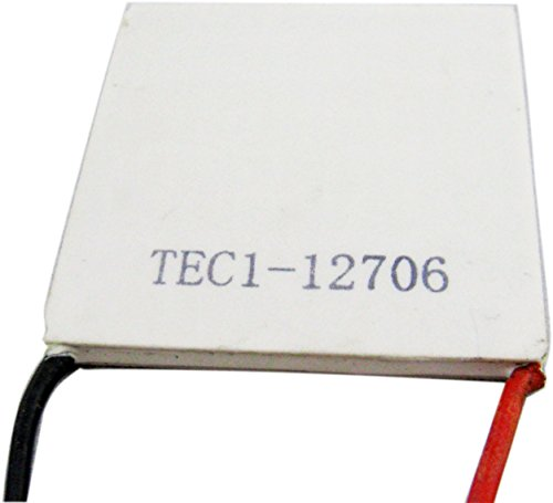 Yeke 40Mmx40Mm 12V Tec1-12706 Tec Thermoelectric Cooler Cooling Peltier Plate Generator Tec Controller