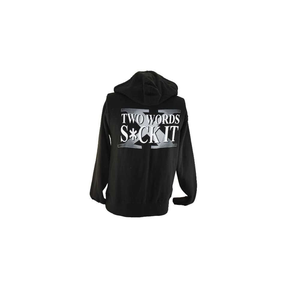 WWE Degeneration X (X Pac and New Age Outlaws) Mens Hoodie 2 Words