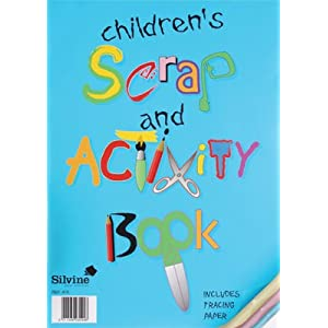 Silvine Childrens Scrap & Activity Book