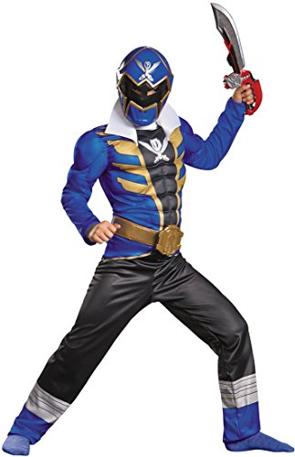 Super Megaforce Muscle Blue Ranger Costume