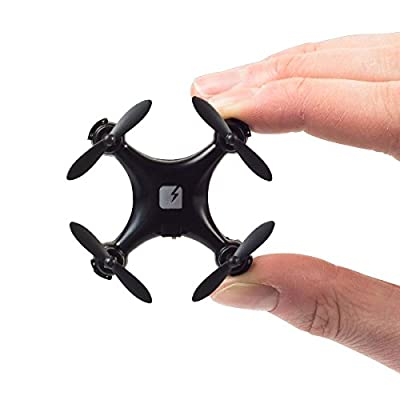 SKEYE Nano Drone (Limited Black Edition) - Remote Controlled - Mini Quadcopter with RTF Technology - One Year Warranty from TRNDlabs