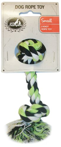 Pet Champion 7-Inch Dog Rope Toy, Small (Champion Dog Toys compare prices)