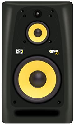 KRK Rokit RP10-3 Mid-Field 10-Inch 3-Way Powered Studio Monitor from KRK