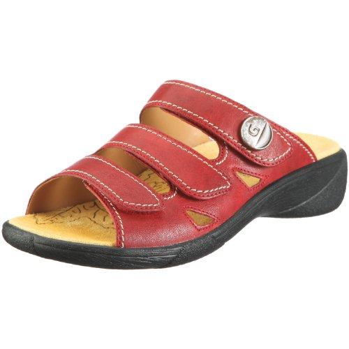 Ganter Hera, Weite H 1-205827-4100, Damen, Clogs & Pantoletten, Rot  (rosso 4100), EU 41