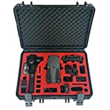 """Professional suitcase/carry transport case """"Mavic Pro Platinum & Osmo Plus Edition"""" with space for a lot of batteries and the complete range of accessories by the market leader MC-CASES - Made in G (Color: Osmo Mavic Combo, Tamaño: Mavic Pro / Osmo Plus Combo Case)"""