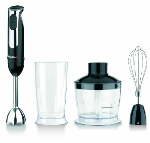 Breville VHB060 400 W Black Hand Blender Set