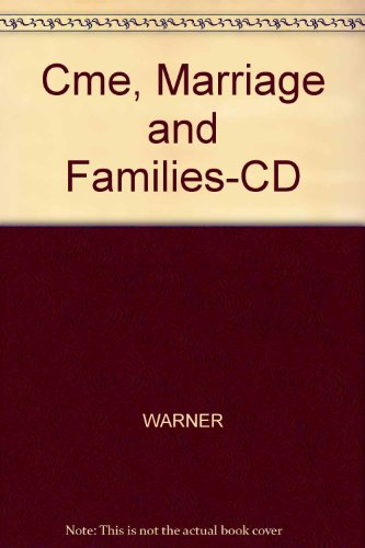 Cme, Marriage and Families-CD