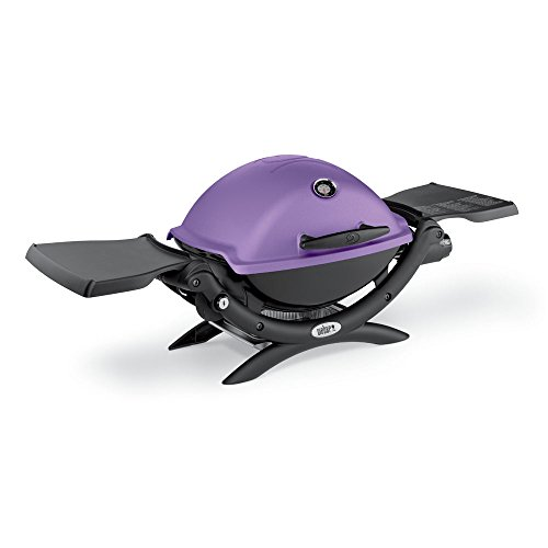 Buy Discount Weber 51200001 Q1200 Liquid Propane Grill, Purple
