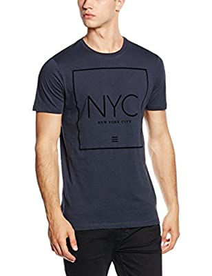 New Look Men's NYC Puff T-Shirt