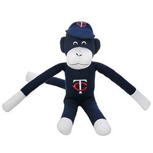 MLB Minnesota Twins Team Sock Monkey, Blue