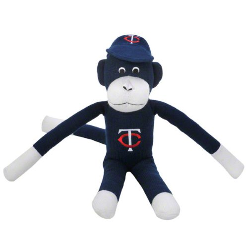 MLB Minnesota Twins Team Sock Monkey, Blue