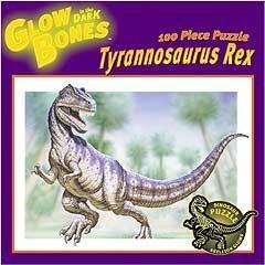 Cheap Ceaco Glow Bones Tyrannosaurus Rex Jigsaw Puzzle: 100 Pcs (B000BYCONG)