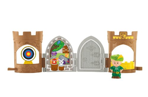 Fisher-Price Little People Robin Hood Pop Open Castle - 1