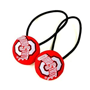 Buy NCAA Ohio State Buckeyes Ladies Hair Ponytail Holder by Game Day Outfitters