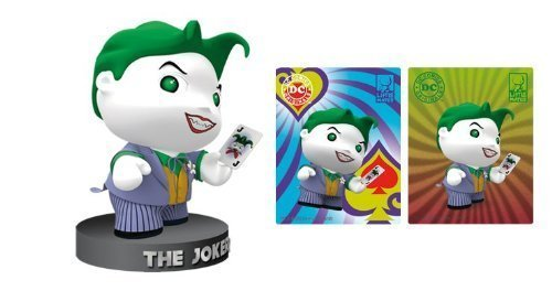 DC Comics Little Mates Joker Figurine And Puff Sticker - 1