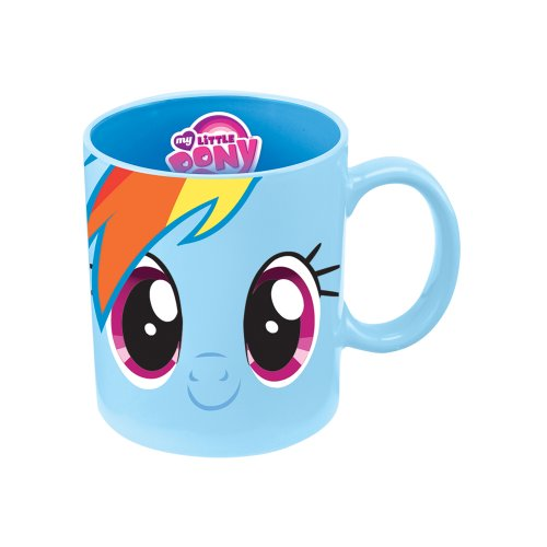 Vandor 42162 My Little Pony Rainbow Dash 12 Oz Ceramic  Mug, Blue