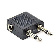 buy Cess 9 X 3.5Mm Airline Airplane Earphone Headphone Headset Adapter Converter
