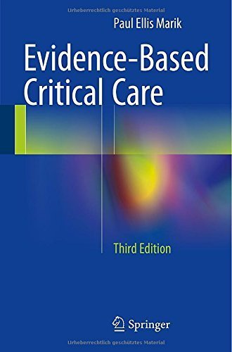 Evidence-Based Critical Care Paperback December 9, 2014, by Paul Ellis Marik