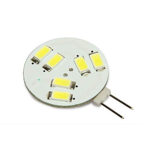 SODIAL(R) G4 SMD5630 6 LED 1W Beleuchtung Lampe Licht Spot Leuchtmittel Weiss