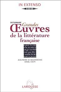 grandes œuvres littéraires françaises