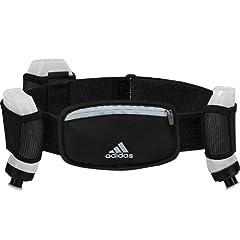 Adidas Adjustable Water Bottle Hydration Running Walking Hiking Belt Bum Bag by adidas