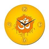 MeSleep Om Wall Clock With Glass Top