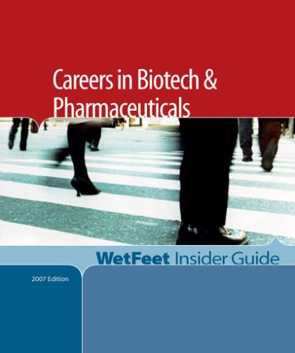 Careers in Biotech and Pharmaceuticals, WetFeet