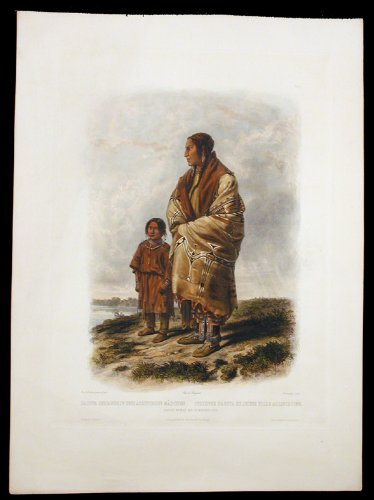 Dacota Woman And Assiniboin Girl front-1065381