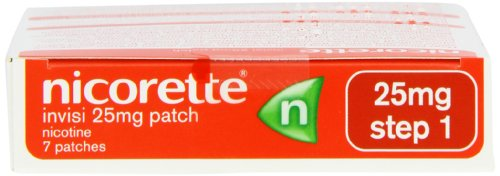Amazoncouk:Customer reviews: Nicorette Invisi Patch 25mg
