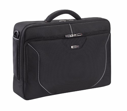 SOLO Sentinel Collection Laptop Portfolio for Notebook Computers up to 16 Inches, Black, RMR301-4