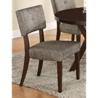 2-Pack Crown Mark Reynolds Dining Chair (Dark Gray) - Open Box
