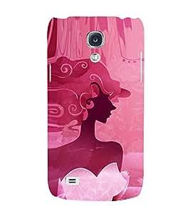 EPICCASE classy fairy Mobile Back Case Cover For Samsung Galaxy S4 Mini (Designer Case)