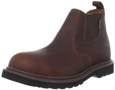 Carhartt Men's CMS4100 4 Romeo Work Boot,Dark Brown Oil Tanned,8 M US