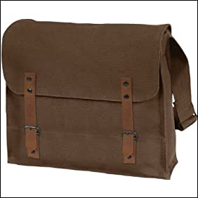 Brown Canvas Medic Bag