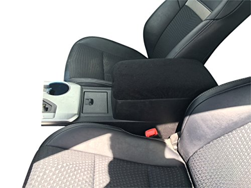 Toyota Camry 2013-2017 Car Auto Center Console Armrest Cover Protects from Dirt and Damage Renews old damaged consoles - Black (Camry Console compare prices)
