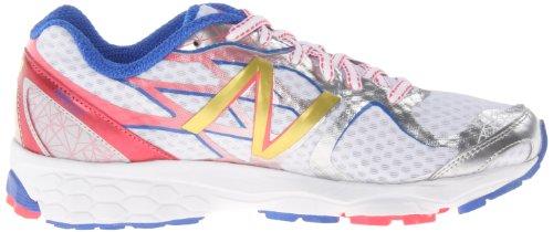 888098227086 - New Balance Women's W1080 Running Shoe,White/Pink,8 D US carousel main 5