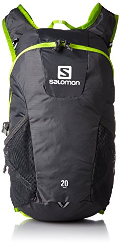 Salomon Unisex Zaino Rucksack Trail 20, Multicolore - Galet Grey/Granny Green, NS