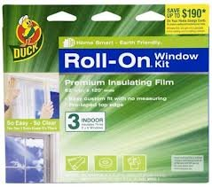 Duck Roll-on Window Kit Premium Insulating Film