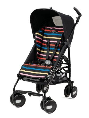 Peg-Perego Pliko Mini Stroller, Neon front-826615