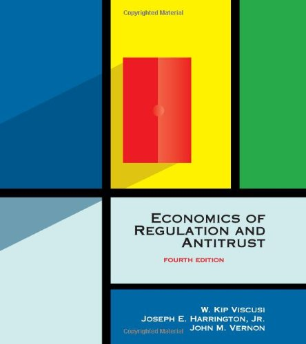 Economics Of Regulation And Antitrust, 4Th Edition front-972909