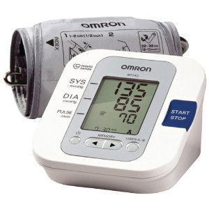 Image of Omron BP742 5 Series Upper Arm Blood Pressure Monitor, White, Medium & Mini Tool Box (ml) (B008JF09PY)