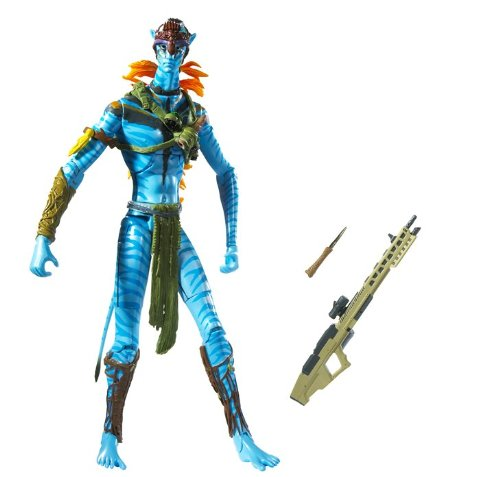 Buy Low Price Mattel James Cameron's Avatar Movie Masters Avatar Jake Sully Warrior Figure (B002MUAPD8)